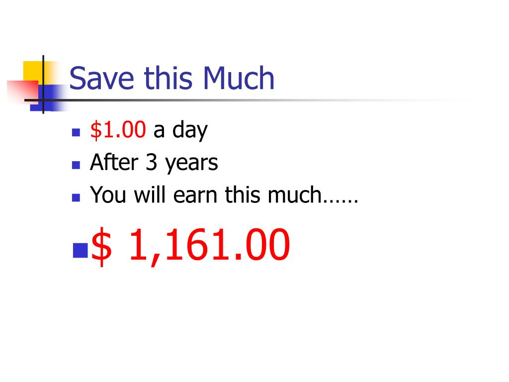 Save this Much