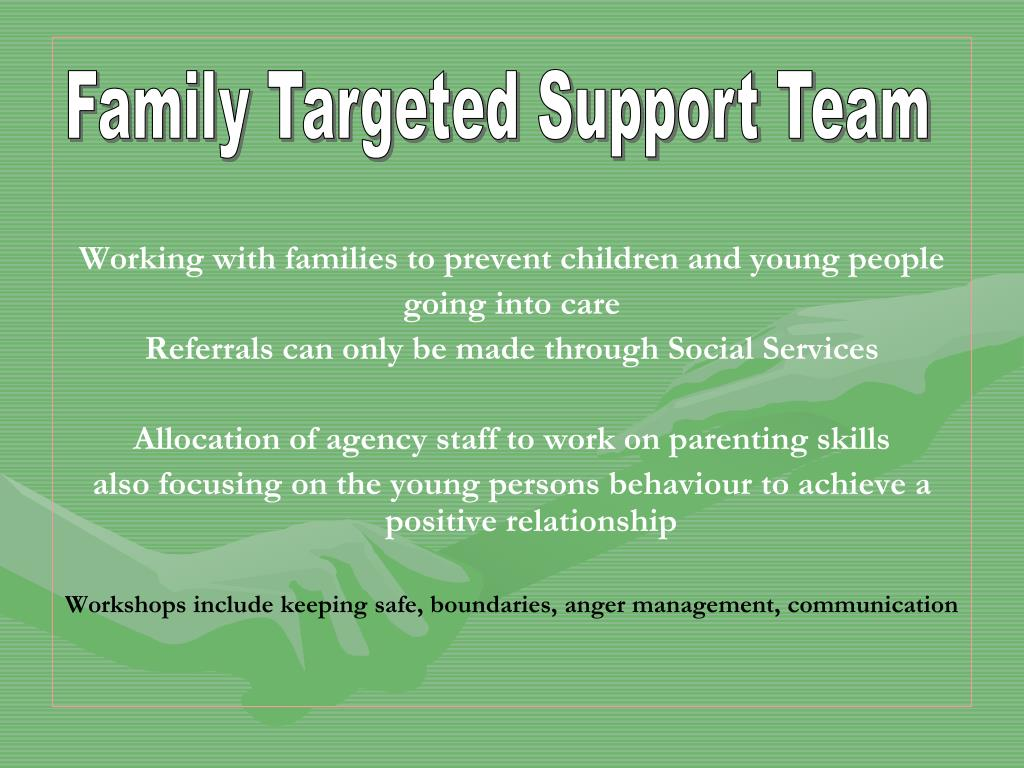 Family Targeted Support Team