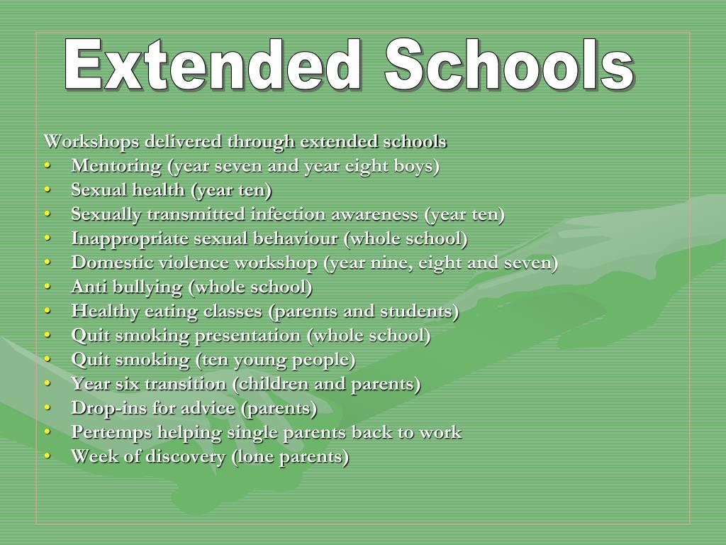 Extended Schools