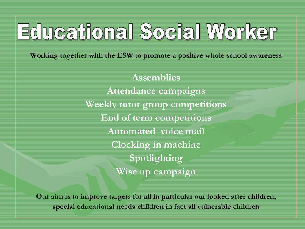 Educational Social Worker