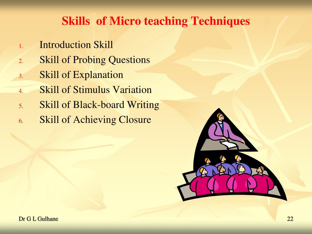 PPT MICRO TEACHING PowerPoint presentation