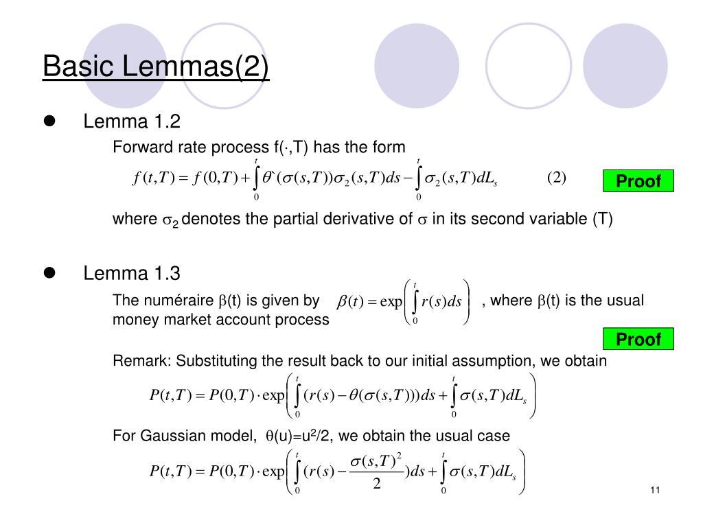 Basic Lemmas(2)