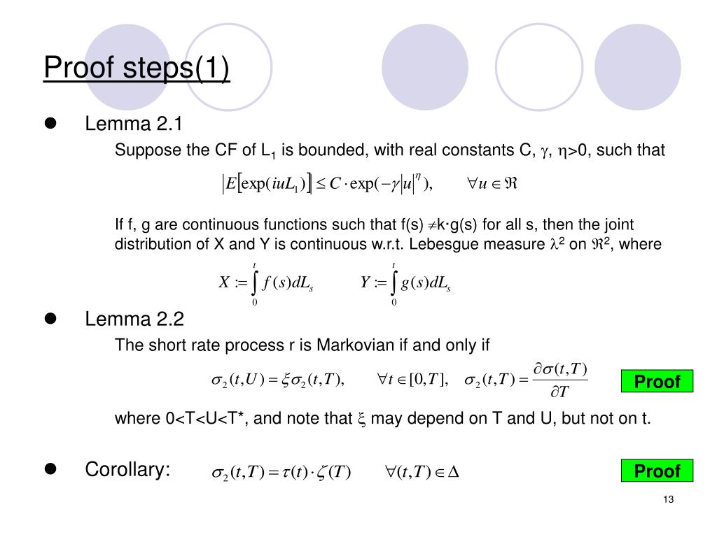 Proof steps(1)