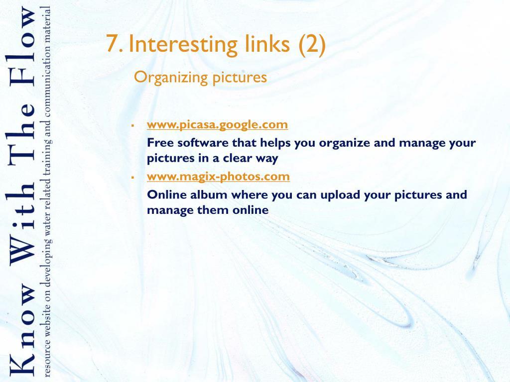 7. Interesting links (2)