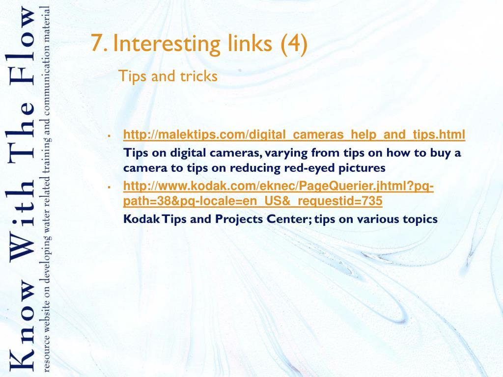 7. Interesting links (4)