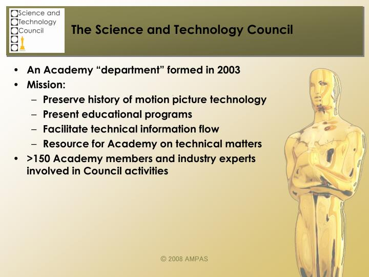 The science and technology council