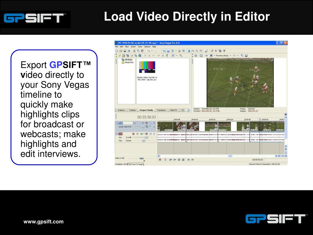 Load Video Directly in Editor