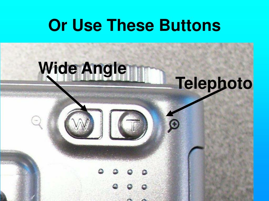 Or Use These Buttons