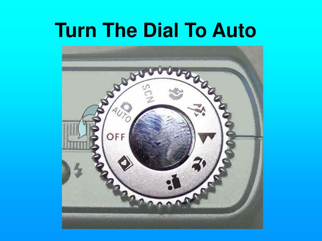 Turn The Dial To Auto