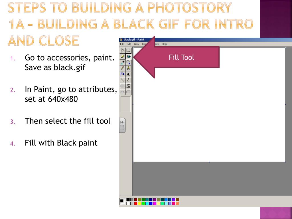 Steps to Building a Photostory