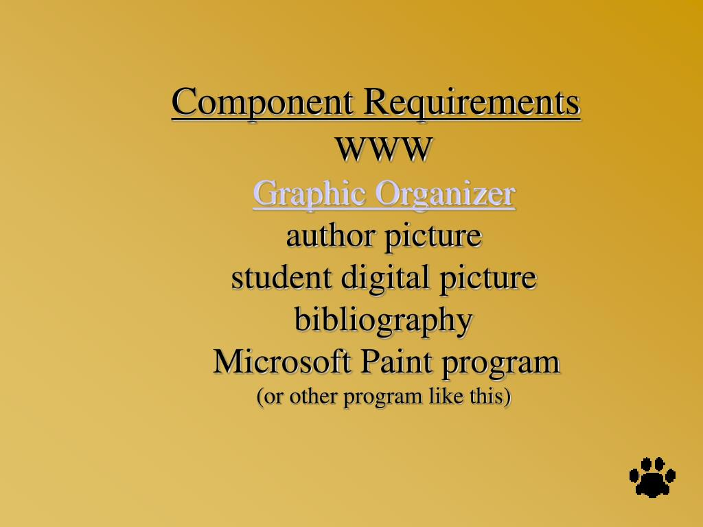 Component Requirements