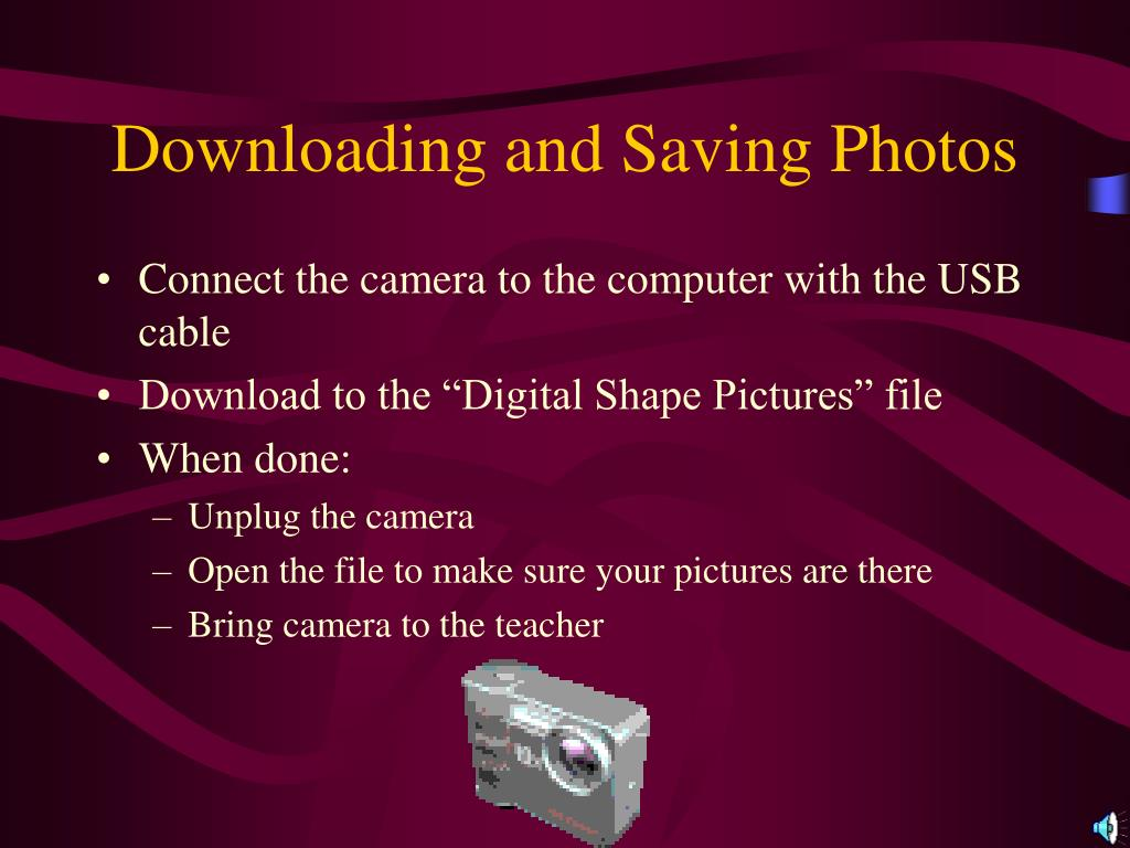 Downloading and Saving Photos