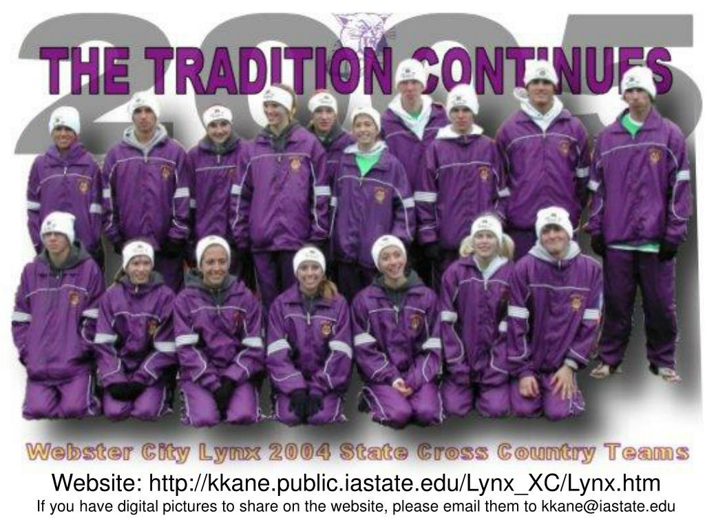 Website: http://kkane.public.iastate.edu/Lynx_XC/Lynx.htm