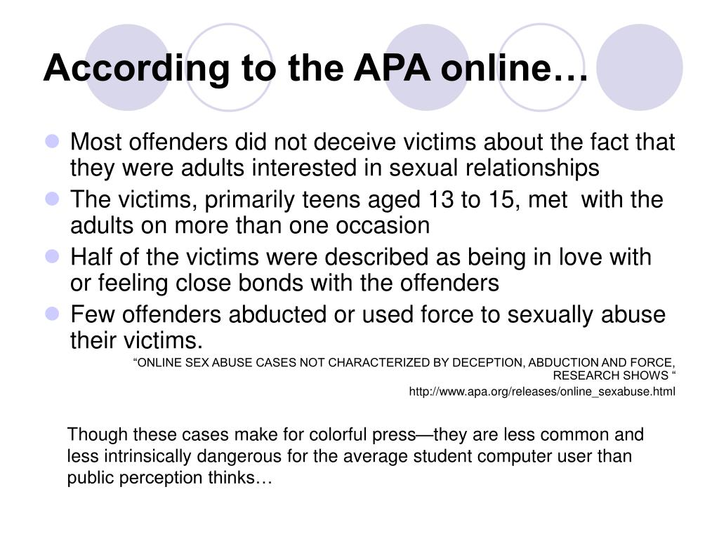 According to the APA online…