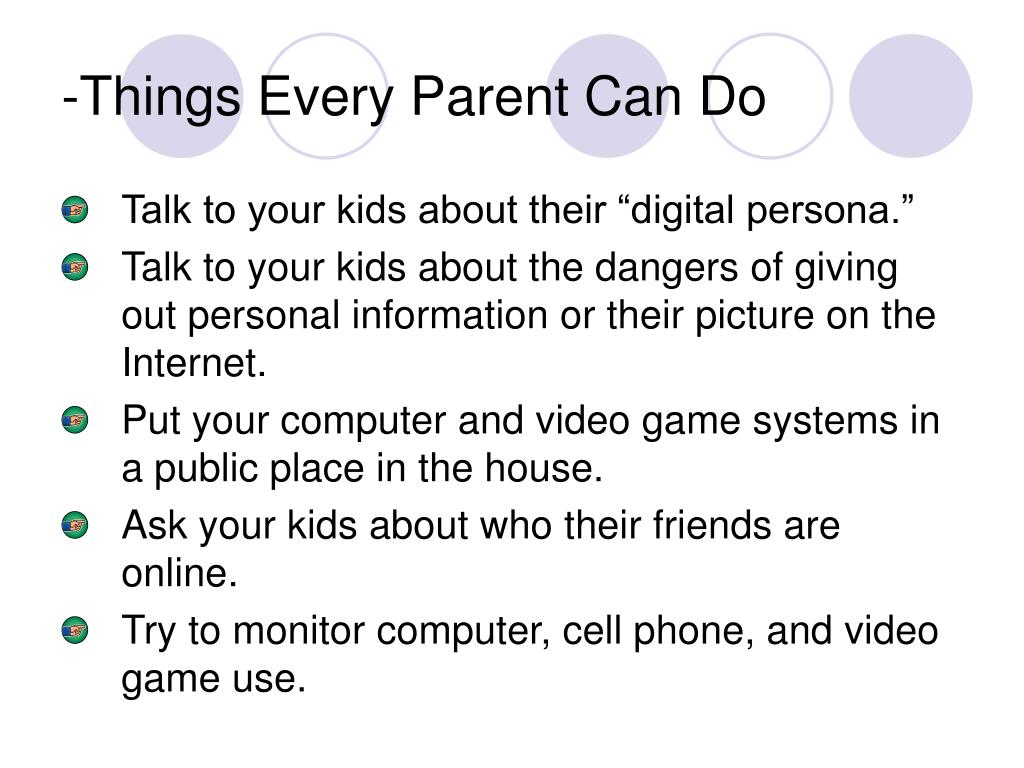 -Things Every Parent Can Do