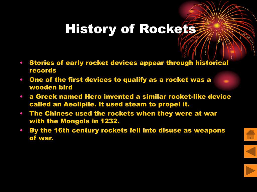 History of Rockets