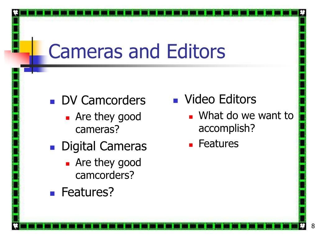 DV Camcorders