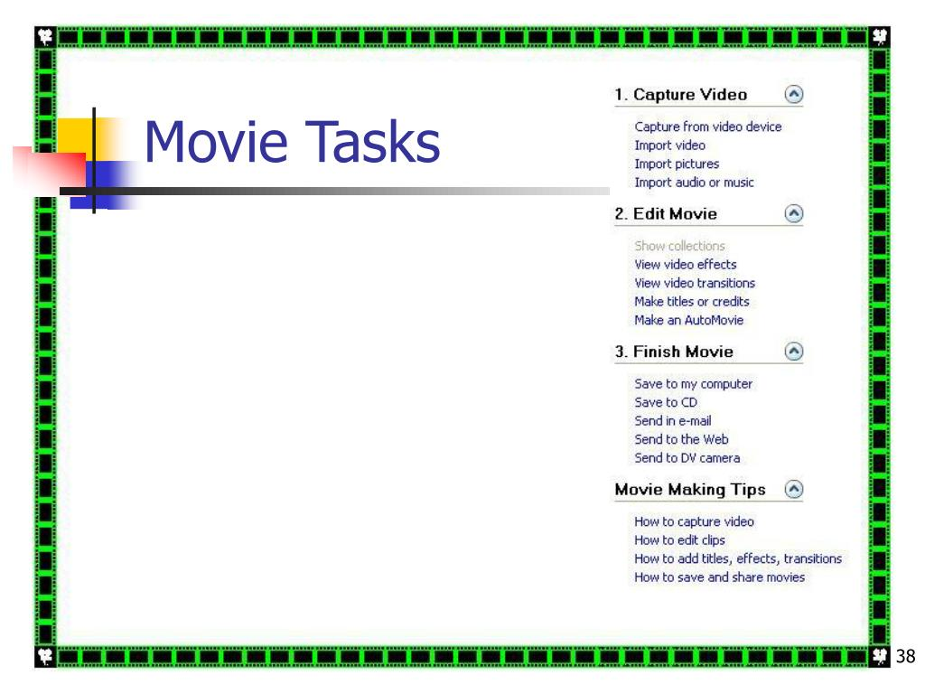 Movie Tasks