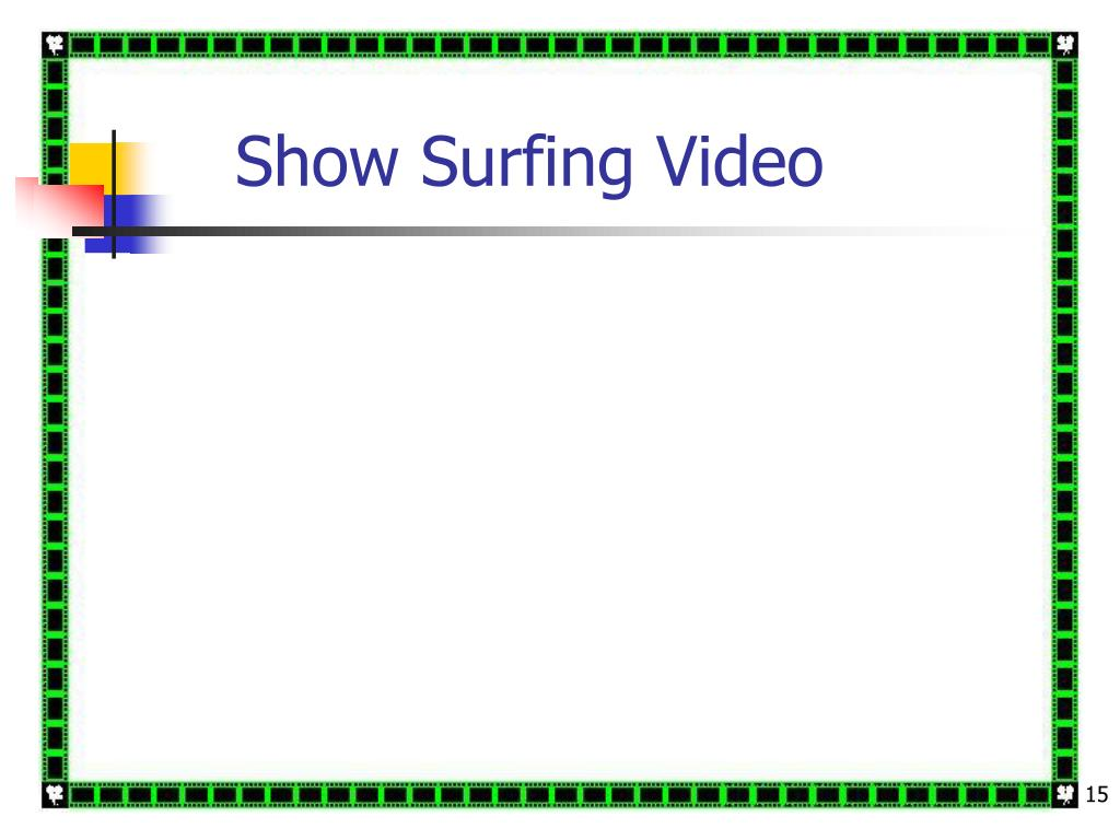 Show Surfing Video