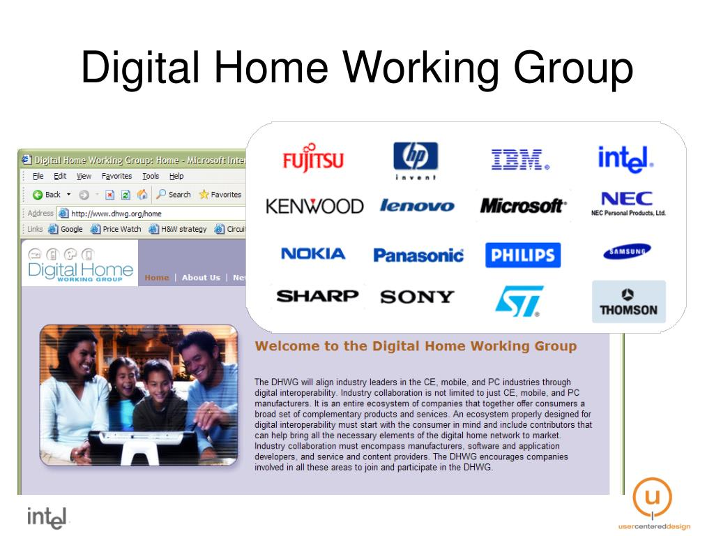 Digital Home Working Group