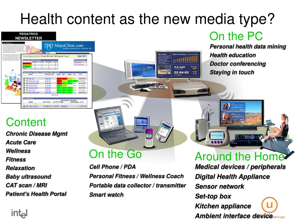 Health content as the new media type?