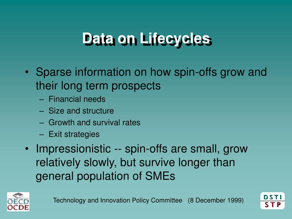 Data on Lifecycles