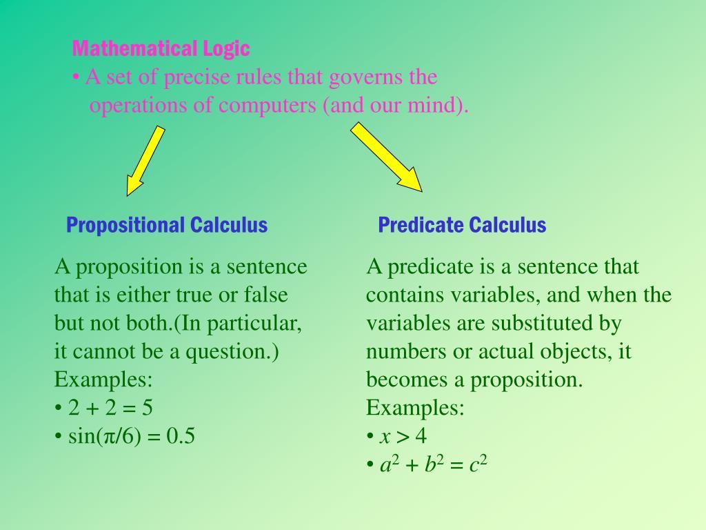 Mathematical Logic