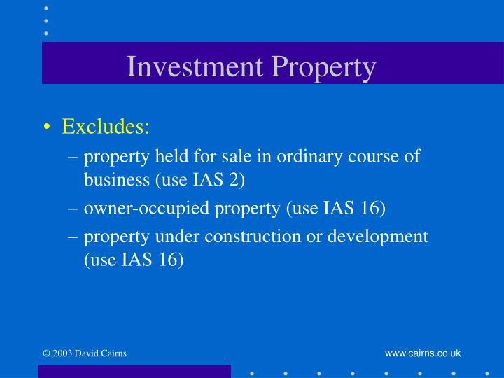 Investment property3