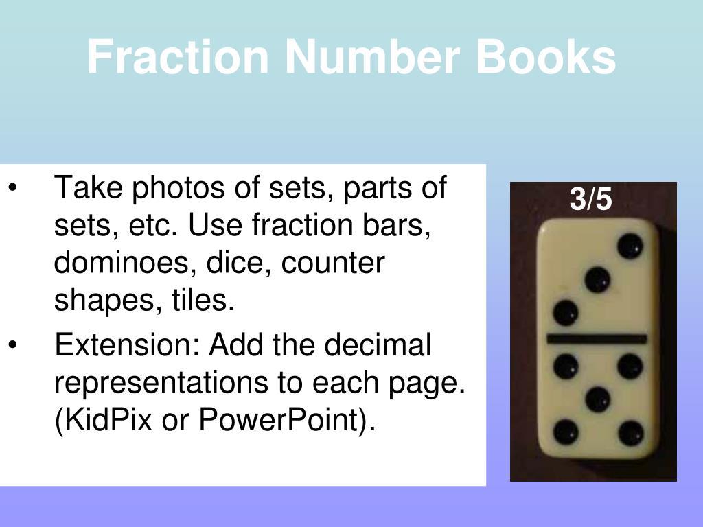 Fraction Number Books
