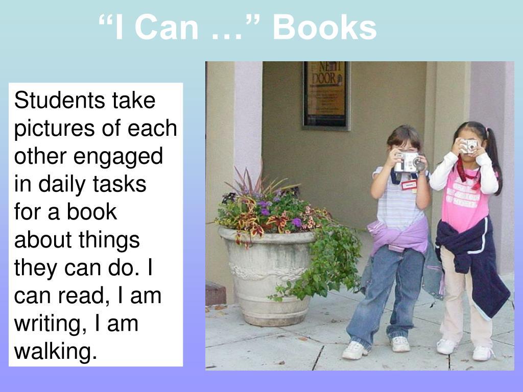 """I Can …"" Books"