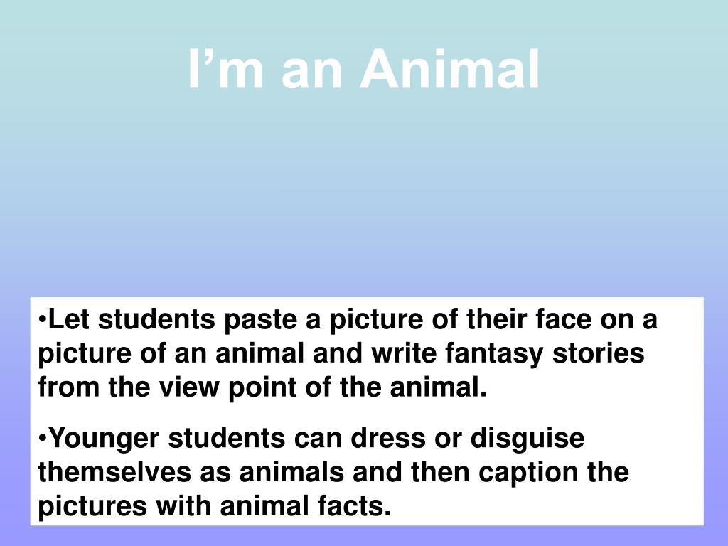 I'm an Animal