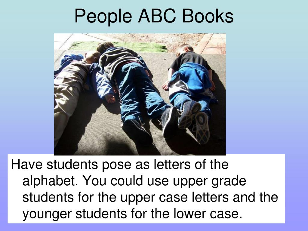 People ABC Books
