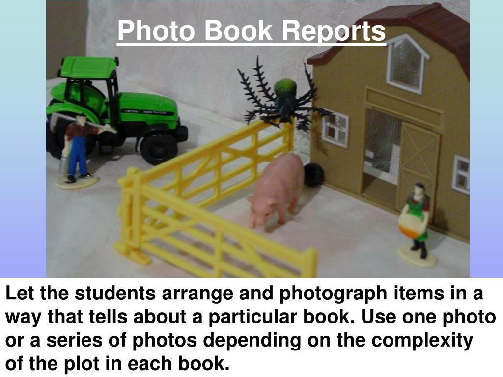 Photo Book Reports