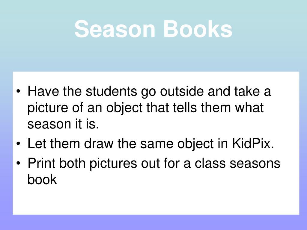 Season Books