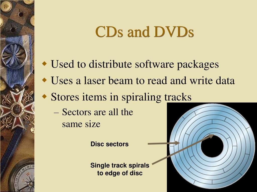 Disc sectors