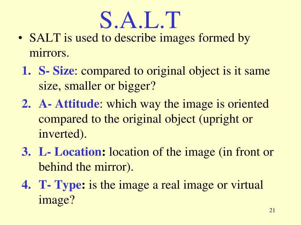 S.A.L.T