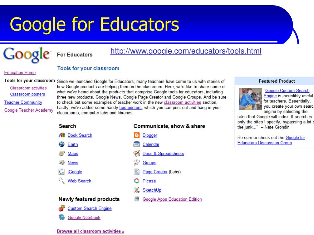 Google for Educators