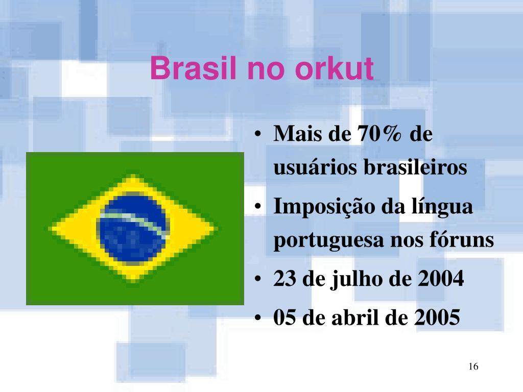 Brasil no orkut