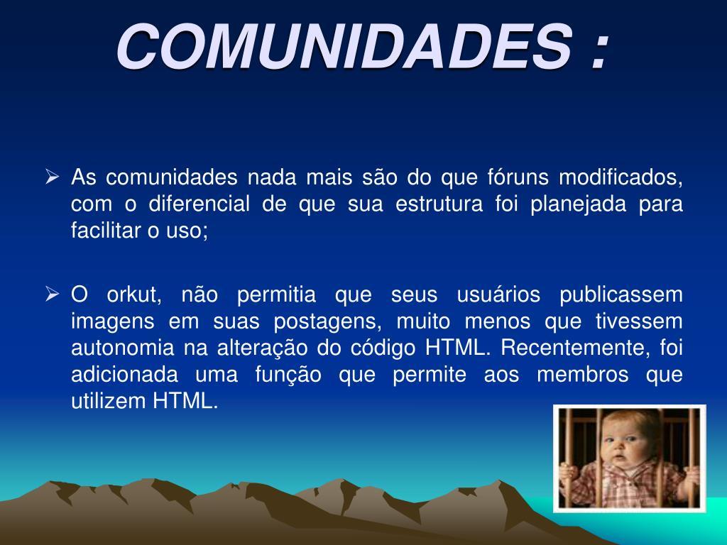 COMUNIDADES :