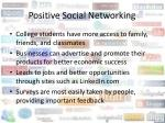 positive social networking11