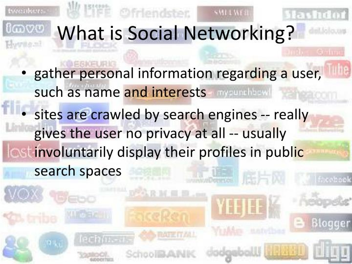 What is social networking3