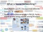 what is social networking4