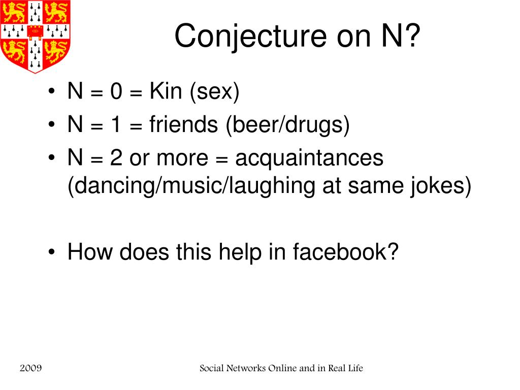 Conjecture on N?