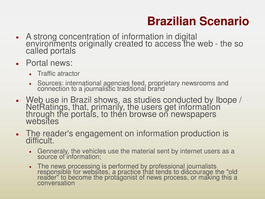 Brazilian Scenario