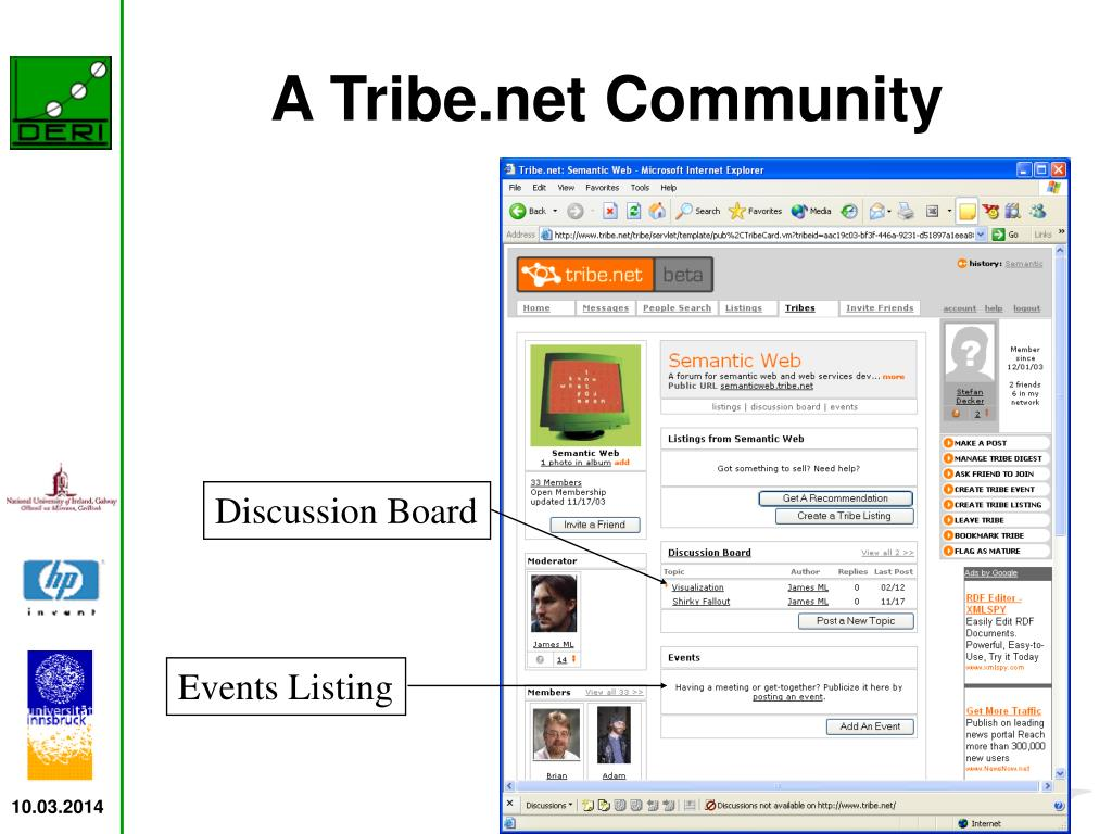 A Tribe.net Community