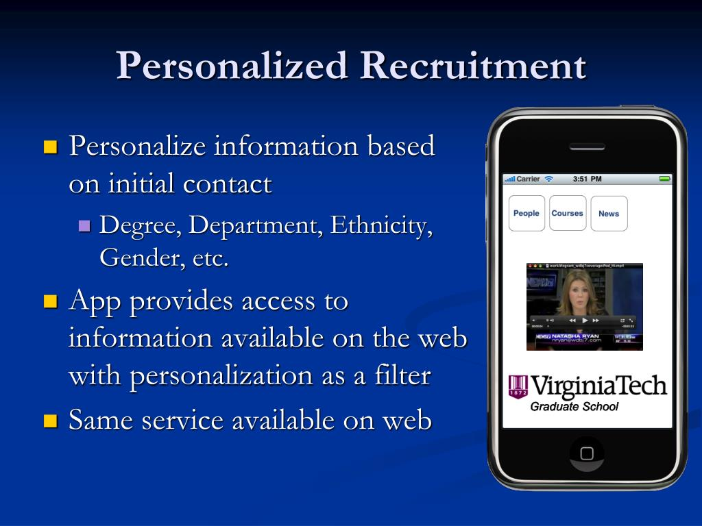 Personalized Recruitment