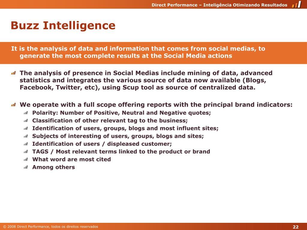 Buzz Intelligence