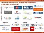 direct performance expertise embraces different work tools