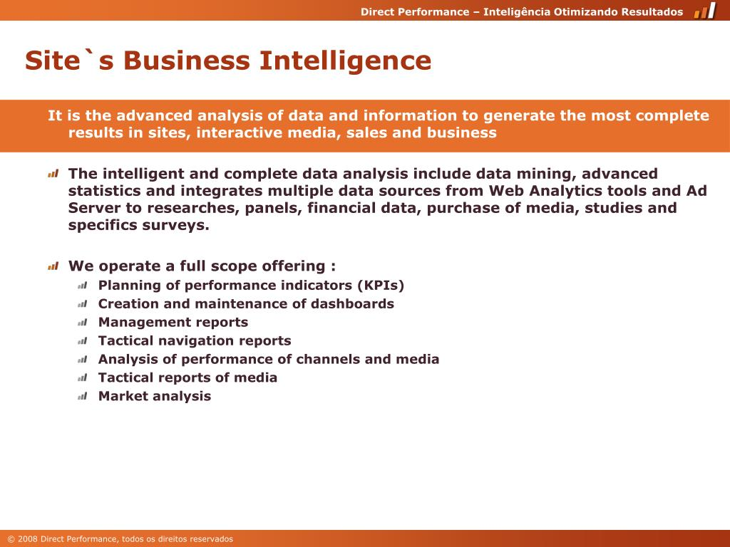 Site`s Business Intelligence
