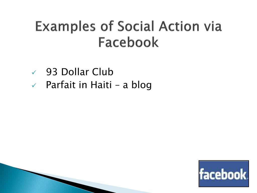 Examples of Social Action via